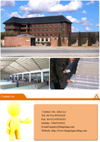 Trustworthy China Supplier Pvc Roofing Tile/royal Type/720/plastic ...