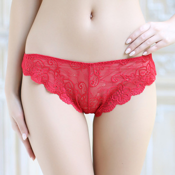 819798385 Beauty image transparent panties low waist sexy women panties see through  lace panties