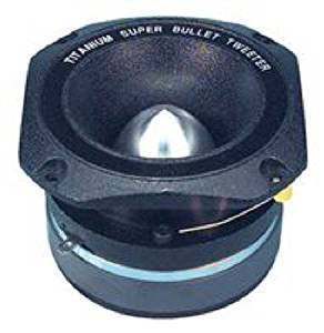 SINGLE PIECE O2 ELEMENT OP22 O2 OP-22 100W 2 inch 107 db Titanium Bullet Tweeter 3.5K-20KHZ 8 Ohm