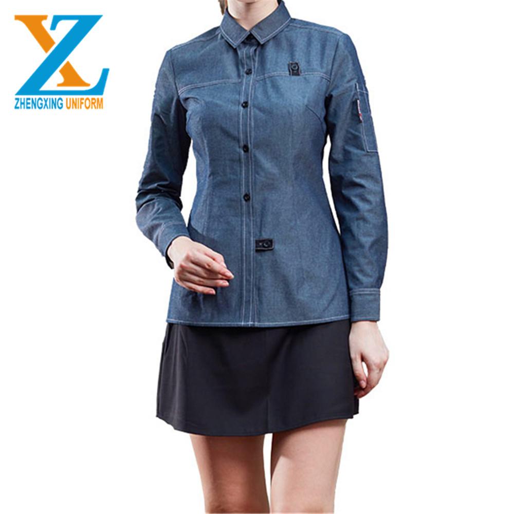 Short sleeve latest design fashion style uniform, jacket, chef coat for restaurant and hotel