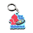 Wholesale Silicone Key Chain Beautiful Design Custom Pvc Keychain With Logo