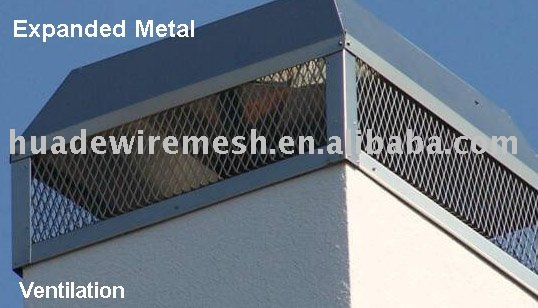 Exhaust Screens, Expanded Metal Filter Guards,expanded metal sheet,