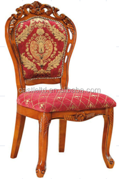 Carved Banana Leaf Dining Chair With Cushions Buy Antique Oak