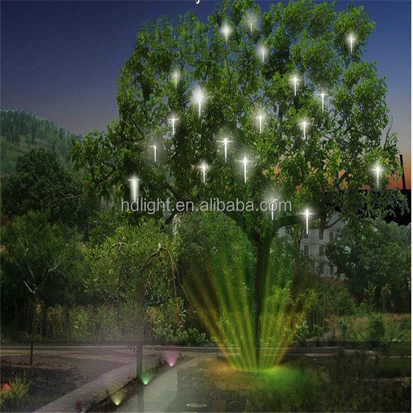Multi-colored Led Meteor Shower Waterproof Christmas Outdoor ...