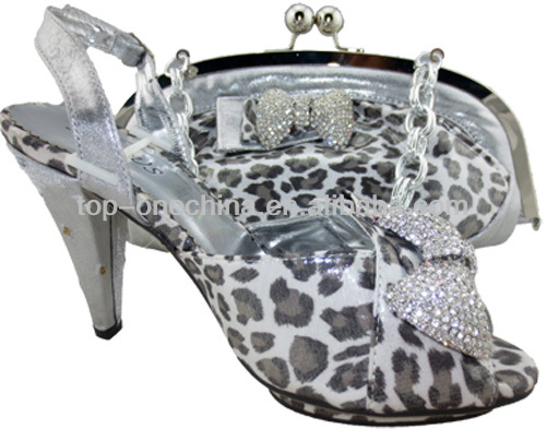 silver matching and bag and and matching shoe TSH137 set bag shoes set italian wedding shoes bag IfFZZ