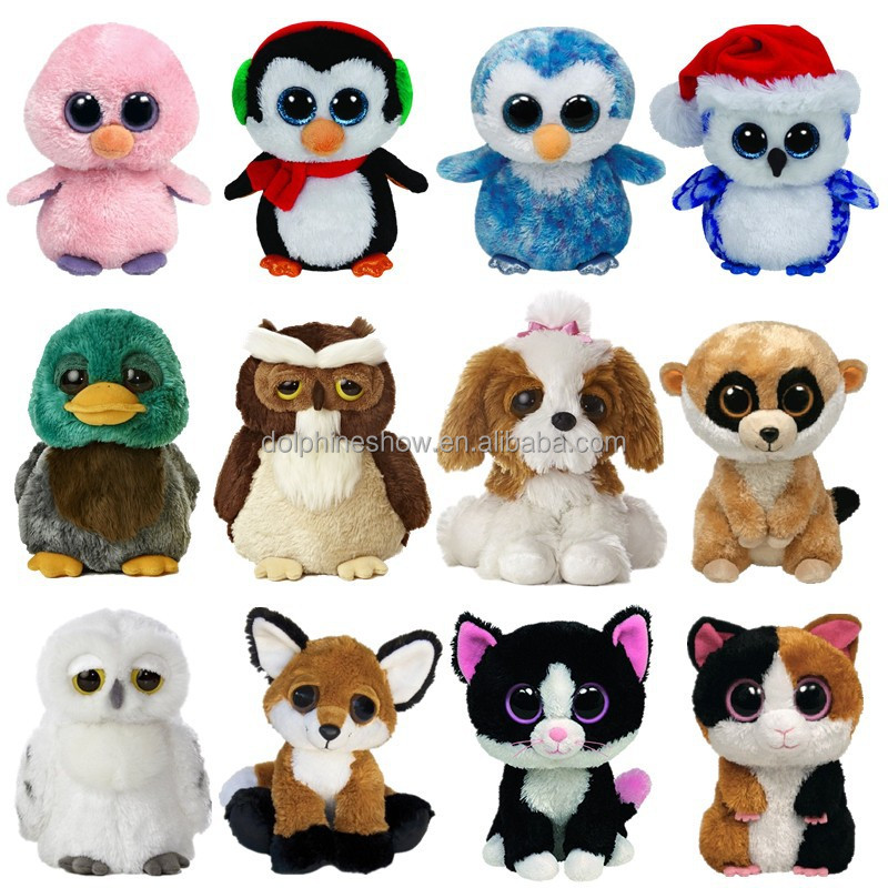 Hot vente rouge crabe mer animaux peluche douce jouets en - Animaux a gros yeux ...