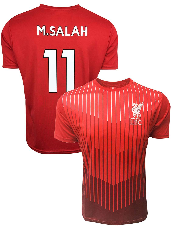 46a674ecf Get Quotations · Liverpool Mohamed Salah Jersey for Kids, Training Jersey,  Official Shirt of M. Salah