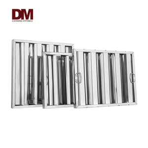 Aluminum commercial kitchen range hood grease filter