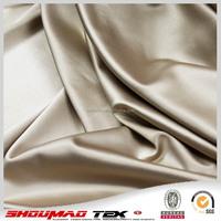 wedding plain elastic satin fabric