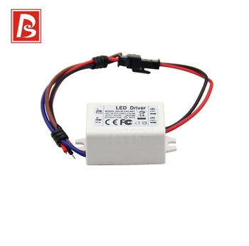 2 Years Warranty 12v 6w Triac Dimmable  Led Driver LED Power Supply 300MA