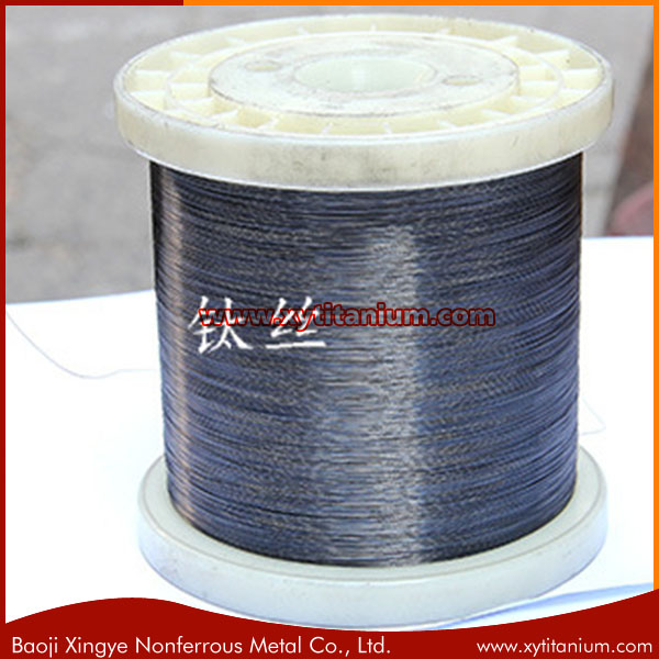0.6-1.5mm Shape Memory Alloy Nitinol titanium wire
