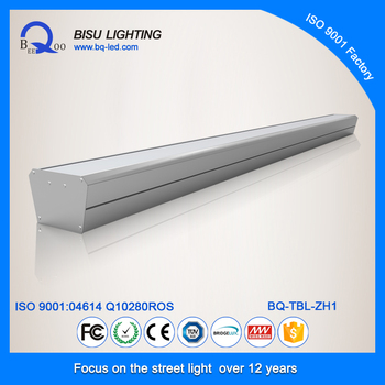 Bisu TBL-ZH1 40W led tube path with IP54, 50000 hrs lifespan, led supermarket light