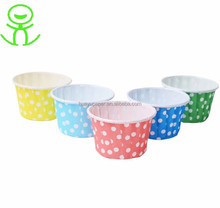 Customized cupcake paper baking cups of wholesale paper muffin cups
