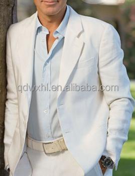 Men's Leisure Suits Men's Bespoke Suiting Fabric Fashioo White Men ...