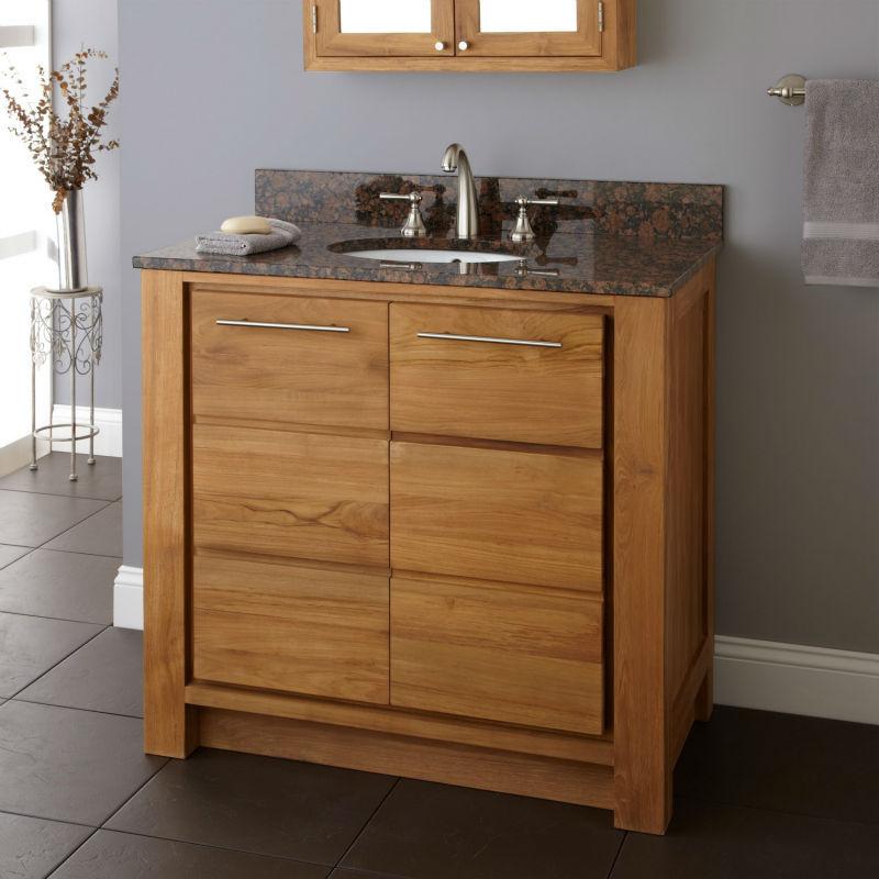 Parede pendurado armário de banheiro do carvalho com paletes e espelho pendur -> Armario De Banheiro Feito Com Paletes