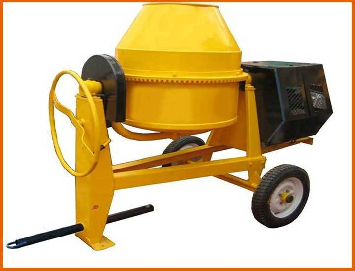 Used Small Cement Mixers : Famous brand used portable concrete mixer volumetric