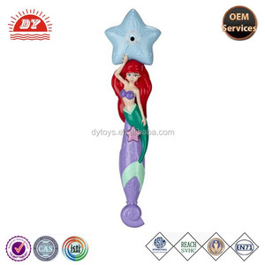 plastic colorful bubble magic wand for kid