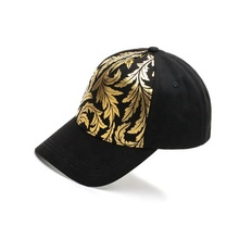 Baumwolle <span class=keywords><strong>stoff</strong></span> 5 panel custom gold glitter drucken <span class=keywords><strong>baseball</strong></span> kappe