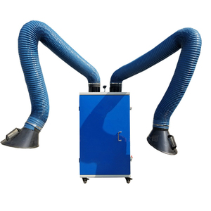 Portable Welding Dust Collector with Double Arms