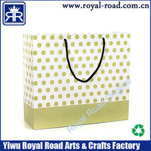 personalized Best Price standard size Elegant printing birthday gift bag
