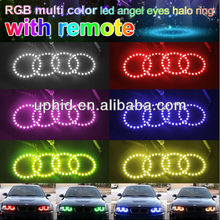 5050smd RGB multi color led car halo rings 70mm