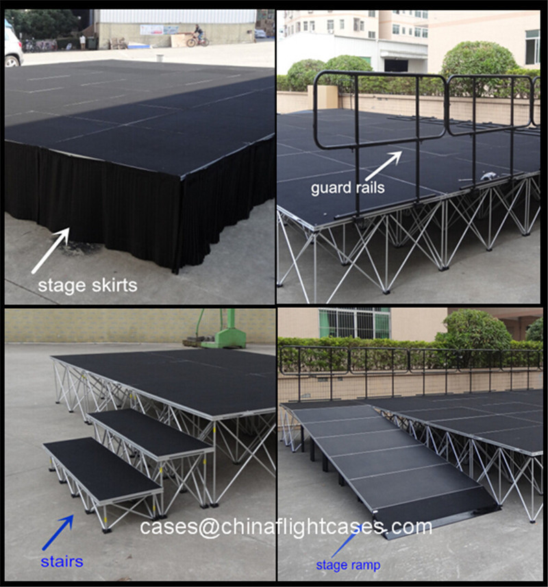 Diy Portable Stage For Sale Risers 10 20 40 60 80 Cm