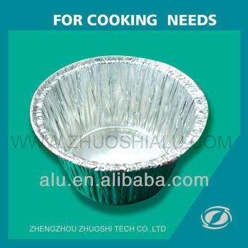 Disposable Aluminium Foil Cake Cup With Low Price