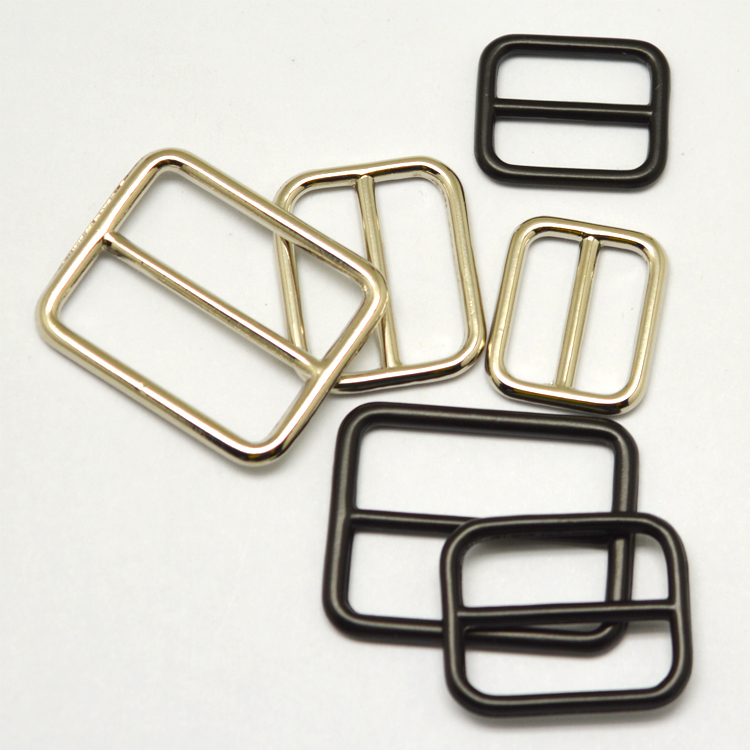 Metal Square Belt Buckle Slide Buckles For Bag Metal Tri-glide Slider  Buckle - Buy Metal Square Belt Buckle,Slide Buckles For Bag,Metal Tri-glide