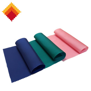 NN011 plain woven pu coated waterproof shrink and tear resistant nylon fabric for bags