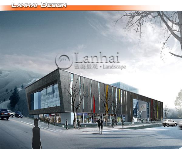 Commercial Building Design 3d Architectural Rendering