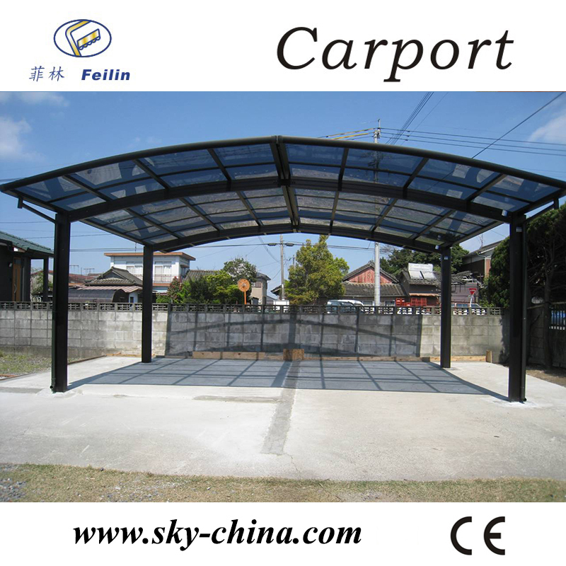 polycarbonate et aluminium carport en plastique toit abri voiture chine freesky cantilever. Black Bedroom Furniture Sets. Home Design Ideas