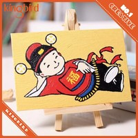 Wholesale popular creative diy oil painting by numbers