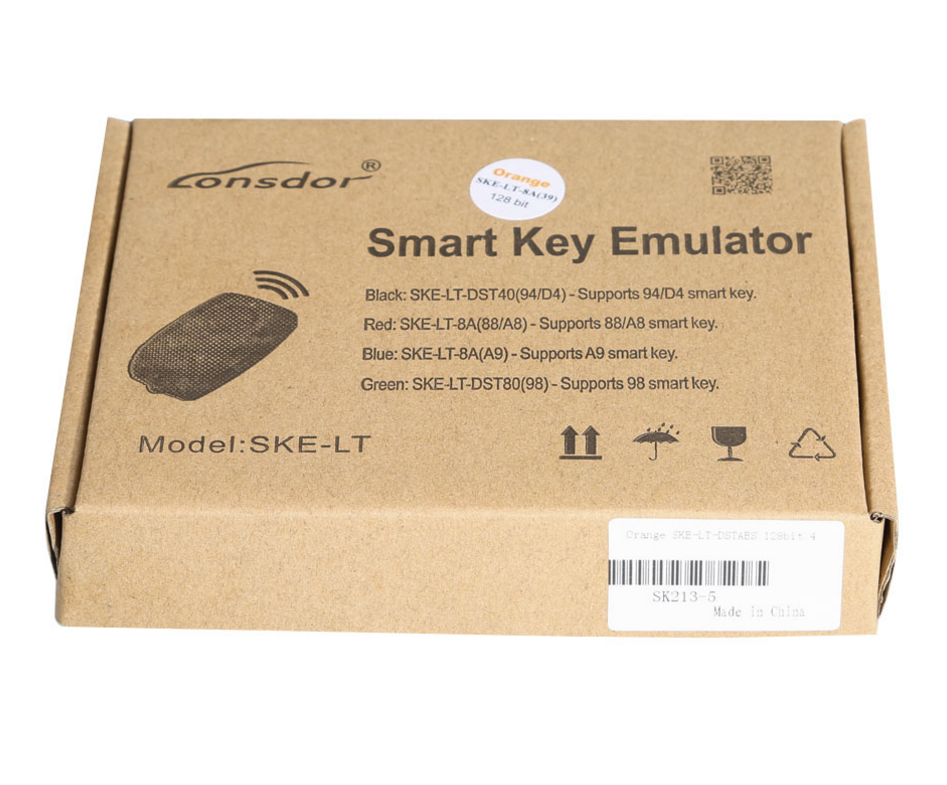 Lonsdor Orange SKE-LT-DSTAES The 5th smart key Emulator for Toyota & Lexus 128bit key programmer for all keys lost