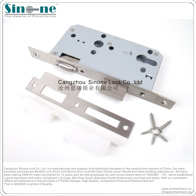 Germany Quality Euro Mortise Lock For Fire Door Ce1121