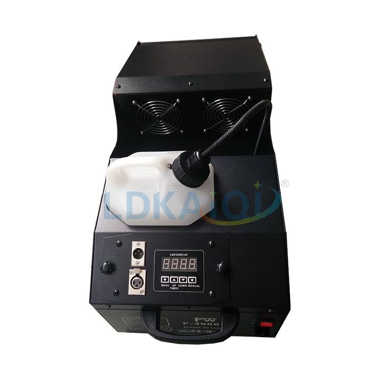 1500W DMX512 sahne etkisi ekipmanları sis makinesi pus makinesi