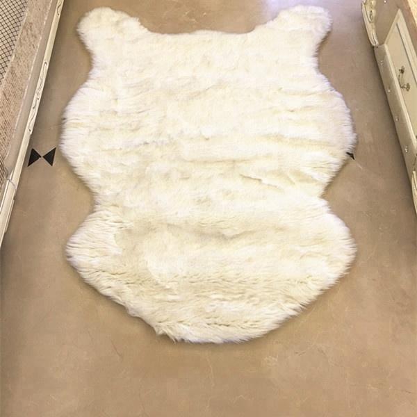 Real Mongolian Lamb Fur Plate Real Fur Blanket For Sofa Fur Throw Rug Blankets Entertainment Memorabilia Rugs Sheep Skin Carpet Tibetan Buy One Get One Free