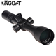 Kingopt 3-15x50 scope first focal plane long eye relief riflescope with Zero-stop turret and German HD lens