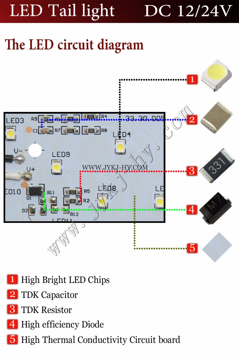 12 Volt Led Tail Lights Diagram - Auto Electrical Wiring Diagram •