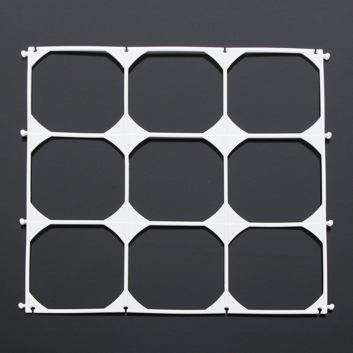 10Pcs Balloon Grid Frame Square 9 Grids Modeling Party Balloons Wall Wedding Decoration SINGLE ITEM