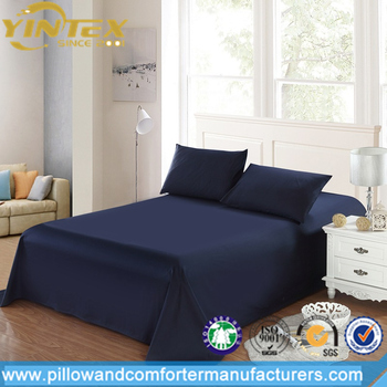 Wholesale Top Quality 70% Bamboo Fiber 30% Cotton Mixed Cooling Bed Sheet  Set For