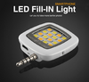 Universal 3.5mm Mini LED Camera Flash Fill-In Light for Mobile Cell Phone Phone External Flash Selfie Flash Light