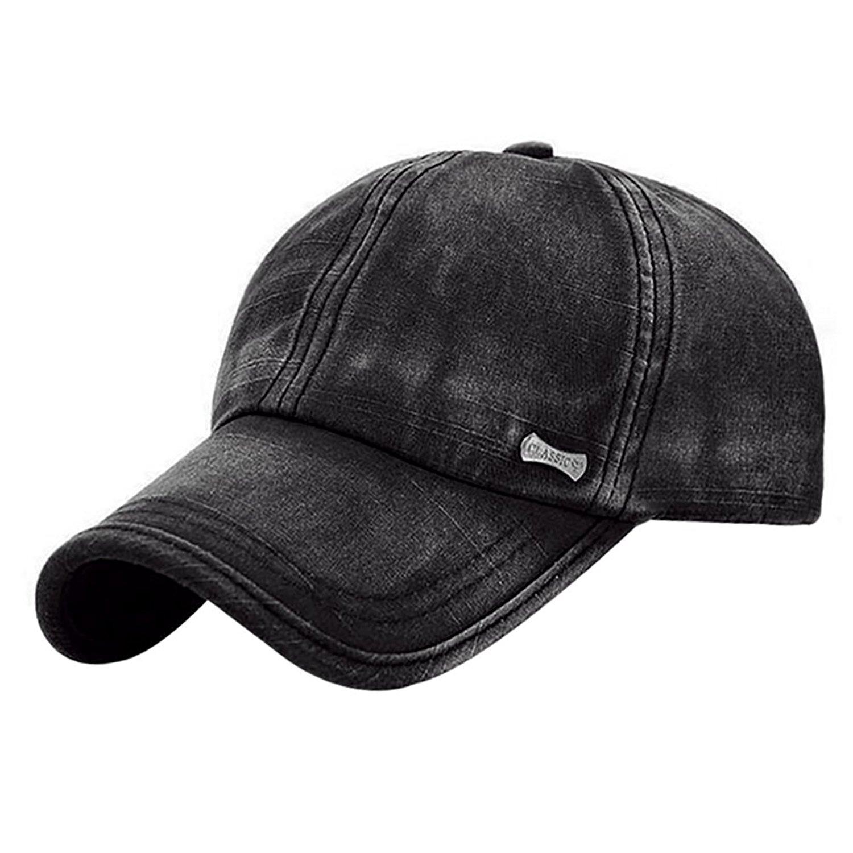 1e1ec2f095b Get Quotations · Glamorstar Trendy Baseball Caps Adjustable Distressed  Washed Cotton Ball Hat