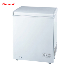 Wholesales Price Smad Double Two Door Deep Chest Freezer With Two Compartments