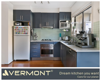 Various Simple Modern Dark Grey Kitchen Cabinet Designs Suitable For