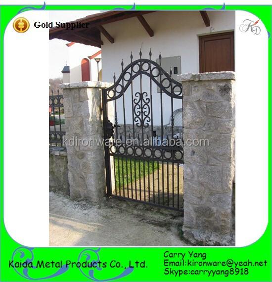 Jard n y la casa decorativa puertas y rejas de hierro for Puertas de jardin de hierro