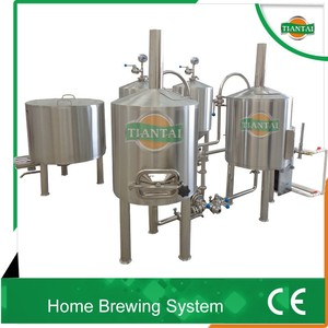 100L 2BBL mash lauter tank, brew pot, hot liquor tank for home brewing machine