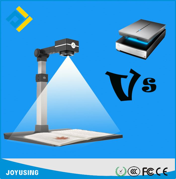 Portable document camera for office ocr reader