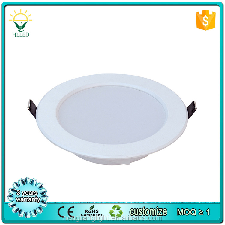 CE ROHS approved 3 years warranty 10 inch led downlight