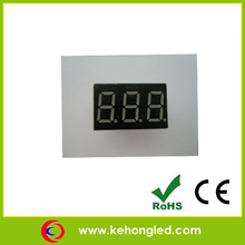 0.40 inch 7segment 3 digits display