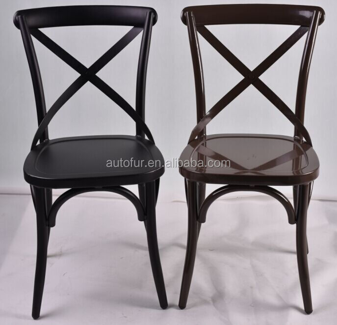 x back cross back dining chair french bistro style buy bistro chairs french dining chairs. Black Bedroom Furniture Sets. Home Design Ideas